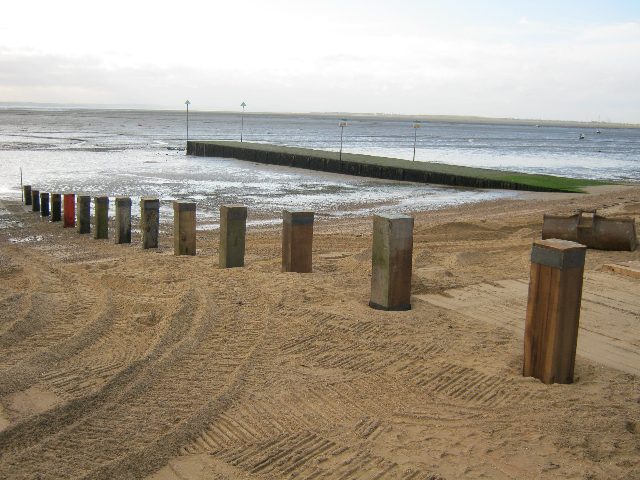 Sea Defence Ashwell Timber
